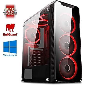 Vibox Kaleidos SA4-71 Gaming PC Ordenador de sobremesa con 2 Juegos Gratis, Windows 10 OS (3,8GHz AMD A6 Dual-Core Procesador, Radeon R5 Gráficos ...