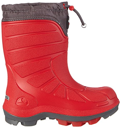 Viking Extreme, Bottes de Neige mixte enfant Rouge (red/grey 1003)