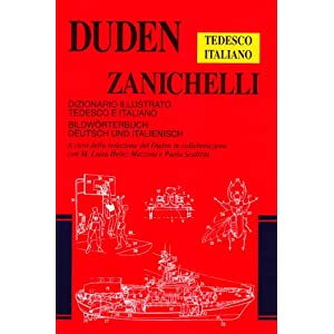 Duden Zanichelli. Dizionario illustrato tedesco-it