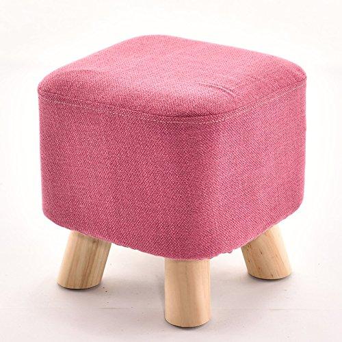 Stool Dana Carrie Tabouret table basse en bois sur un tabouret bas creative élégant chaussures chaussures pour adultes et la mise en œuvre de l'accueil, des bancs banc canapé rouge la