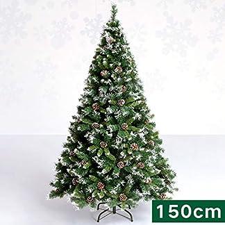 WZR 120cm Árbol De Navidad Artificial De Pino,Plegable Soporte En Metal con Piña Árbol De Navidad Interior Exterior