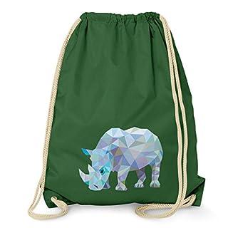 Texlab Poly Rhino - Turnbeutel, dunkelgrün