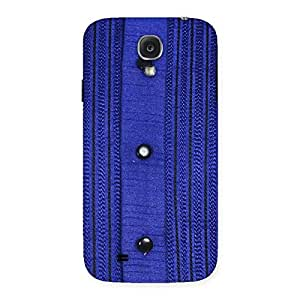 Special Royal Blue Sweat Print Back Case Cover for Samsung Galaxy S4