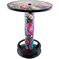 Stehtisch Quick Table Design Floral, Stehbiertisch, Bistrotisch