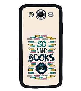 PrintVisa Designer Back Case Cover for Samsung Galaxy Mega 5.8 I9150 :: Samsung Galaxy Mega Duos 5.8 I9152 (Books Reading Little Time Clock )