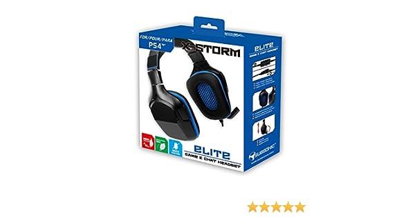 casque gamer subsonic casque x storm elite