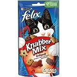 Golosinas para gatos Knabber Mix de Felix, pack de 8 (8 paquetes de 60 g)