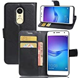 PU Phone Case for Huawei Honor 6X Folio Flip Soft PU Leather Phone Case Wallet Cases