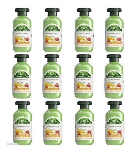 12 x ANTICA ERBORISTERIA Shampoo Multifrutta 250 ML
