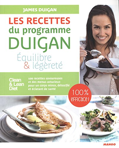 Les recettes du programme Duigan par James Duigan