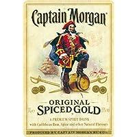 Captain Morgan Blechschild Gewölbt Neu 20x30cm VS4296