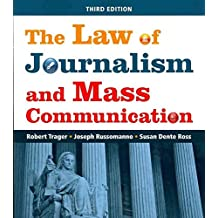[The Law of Journalism and Mass Communication] (By: Robert Trager) [published: September, 2011]