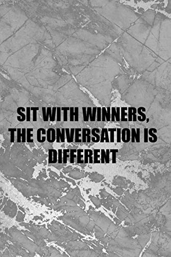 Sit With Winners, The Conversation Is Different: Blank Lined Notebook Journal Diary Composition Notepad 120 Pages 6x9 Paperback ( Chess ) 3