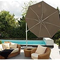 Modello: Saint Tropez–Pinze Berg–GERMANY–Il tuttofare–Ruotare laterale + inclinazione laterale–Ombrellone–270x 270cm Ø–colore: tortora STABIELO–360° girevole superiore a pedale–Ombrellone parasole–La universale–con supporto per cellulare e pannello (senza piastre)–100% poliestere circa 240G/m² UPF 50+ Resistente alle intemperie–Modello: Saint Tropez–Pinze Berg–GERMANY–colore–taupe–distribuzione–holly-sunshade ®–nel prezzo i costi Speditions sono incluse–Barattolo–limitata pezzi numero–incluso nel prezzo Speditions costo per solo finché