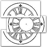 Victoria station Horloge Pochoir–61cm Horloge