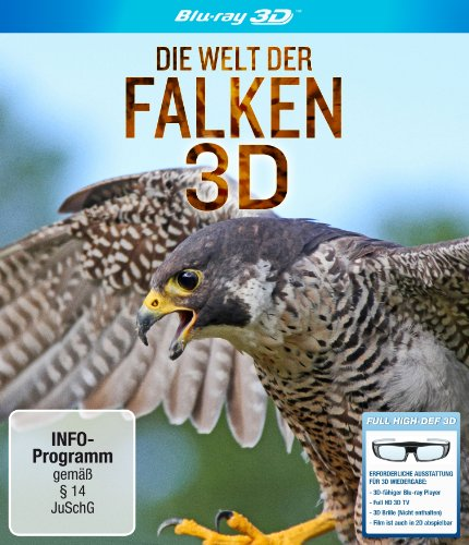 Vogel Person Kostüm - Die Welt der Falken 3D [3D