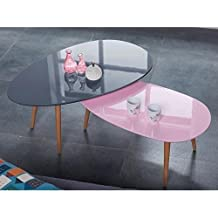 Amazon Fr Table Basse Rose 2 Etoiles Plus