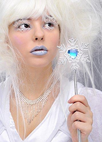 Die Schneekönigin Stil Schneeflocke Zepter Zauberstab