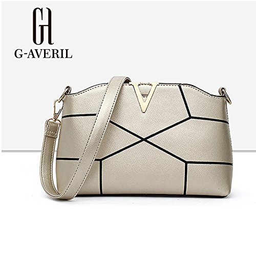 G-AVERIL, Borsa a mano donna Golden Golden