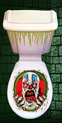 Halloween Horror WC Zierabdeckung (Scary Clown)