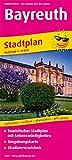Bayreuth: Touristischer Stadtplan mit Sehenswürdigkeiten und Straßenverzeichnis - (Stadtplan / SP) -