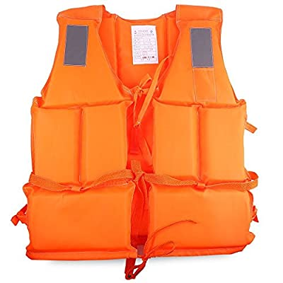 Professional Life Jacket Adult Live Vestwith Whistle Lifejacket Aid Sea Sailing Boating Swimming Surfing from fashionbeautybuy