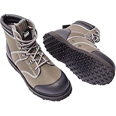 Leeda Volare Rubber Sole Wading Boots**Sizes 8 - 12**Fly Fishing Trout Salmon Game Coarse Boot by Leeda