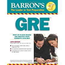 GRE, 18th Ed. Book (Barron's GRE)