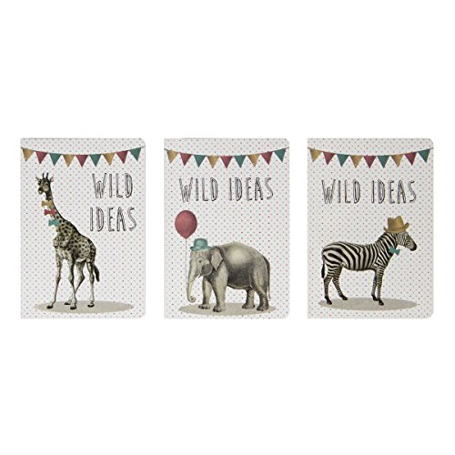 sass-belle-party-safari-animals-paperback-pocket-notebooks-set-of-3