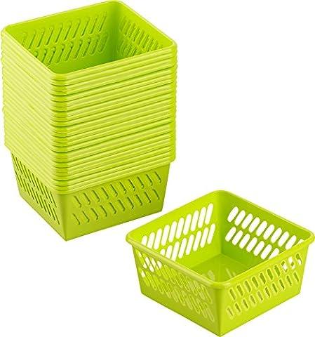 Kigima Handy Basket Utility Basket Nano Set of 25 9.5x9.5x4.9