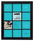 MCS 20,3x 30,5cm Sammler Treasure Rahmen mit 12Fächer, schwarz (Fülldraht)