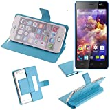 K-S-Trade Flipcover proetcion case for Wiko Highway Signs,