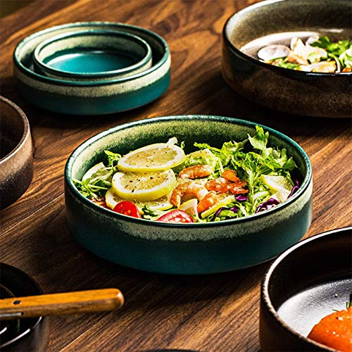 HR Keramikschüssel für Salat, Müsli, Snacks, Ramen, 20,3 cm Scorpion Bowl