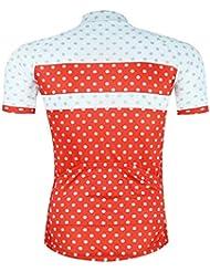 Qianliuk Hombres reflexivos Jersey de Ciclismo con Bolsillo,Secado rápido Transpirable Anti-Sudor Manga Corta Ciclismo Ropa Bicicleta Ropa Camisetas de Bicicleta