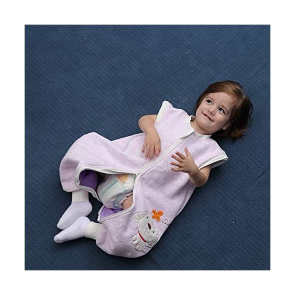 BabyFat Sacos de Dormir/Pijama para Bebé Niño Unisex Otoño/Invierno 2.5 Tog – Oveja – Beige Label 80(0-1T)
