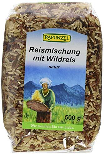 Rapunzel Reismischung mit Wildreis, 3er Pack (3 x 500 g) - Bio (Bio-wildreis)