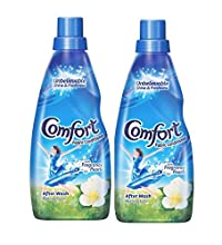 Comfort After Wash Morning Fresh Fabric Conditioner - 860 ml (Pack of 2)