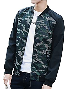 Zhhlaixing Ajustado High Quality Breathable Mens Slim Fit Camouflage Jacket Hooded Coat