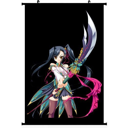 bestweeks-koihime-musou-anime-wall-scroll-poster-kanu-406-x-61-cm
