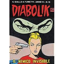 DIABOLIK (94): Il nemico invisibile (Italian Edition)