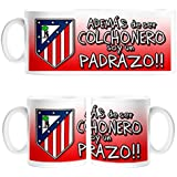 Taza para mi padre Además de ser un Colchonero soy un padrazo Atlético de Madrid fútbol