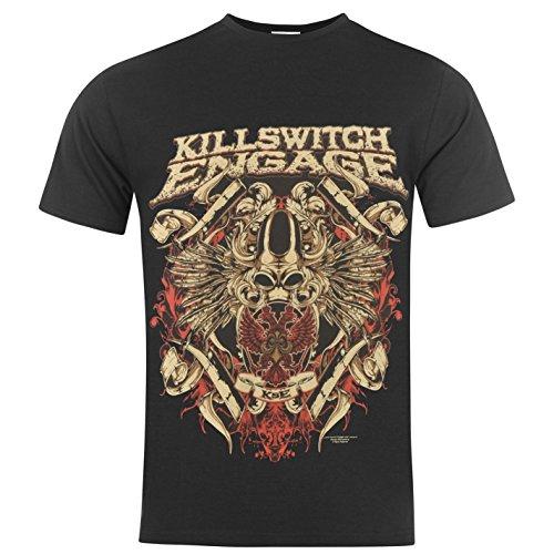 T Shirt Killswitch Engage Bio War (Nero) - Large