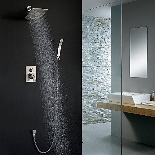 imoebel rasante–Sistema de ducha Ducha Set Combo Set con ducha cabeza lluvia...