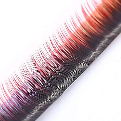 Farbverlauf Falsche Wimpern Dichtes Dickes Wimpernverlängerungs-Make-up-Tool (Size : 10mm/0.39inch)