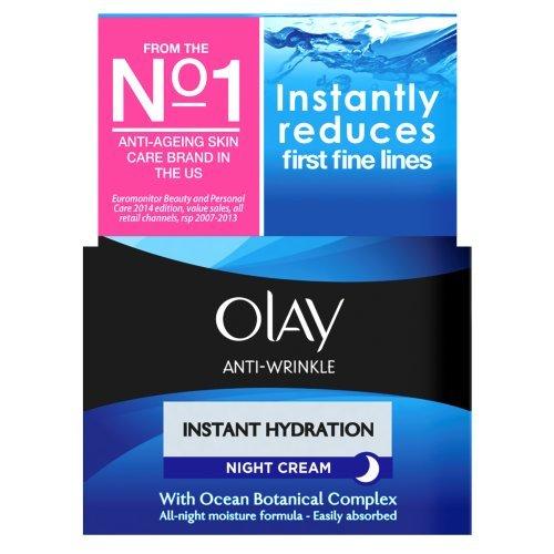 OLAY Anti-Wrinkle Night Cream Instant Hydration 50ml