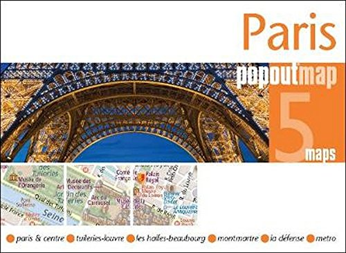 Popout Map Paris (Popout Maps) -