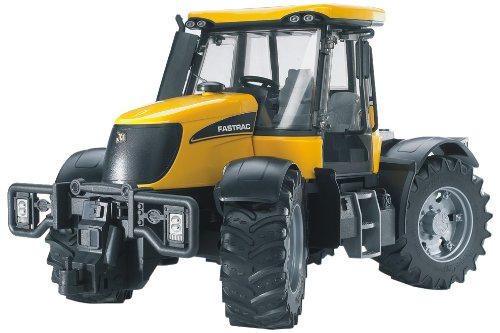 BRUDER - 03030 - Tracteur JCB Fastrac 3220 - Orange