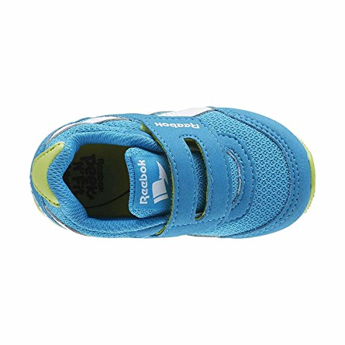 Reebok Bd5173, Sneakers trail-running garçon Bleu (Caribbean Teal/kiwi Green/white)