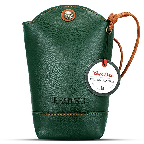 WeeDee , Borsa Messenger  rosso rosso Verde