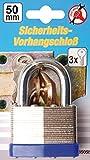 Kraftmann Sicherheits Vorhängeschloss, 50 mm, 85050